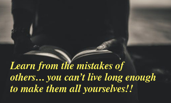 find mistakes