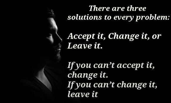 Life's 3 choices