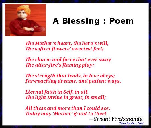 blessing poem