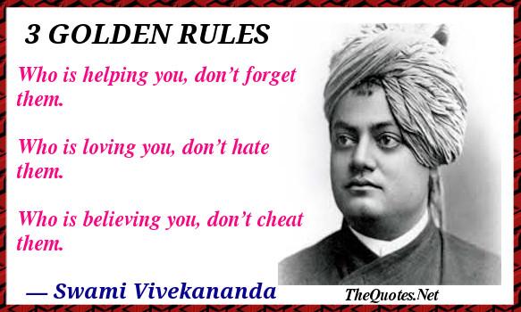 Golden rules