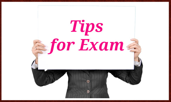 tips for exam