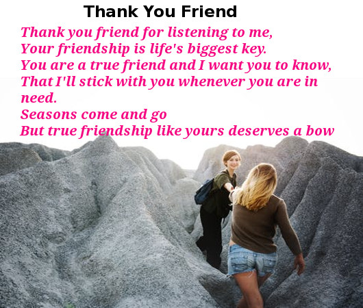 Friendship Poems Thequotesnet