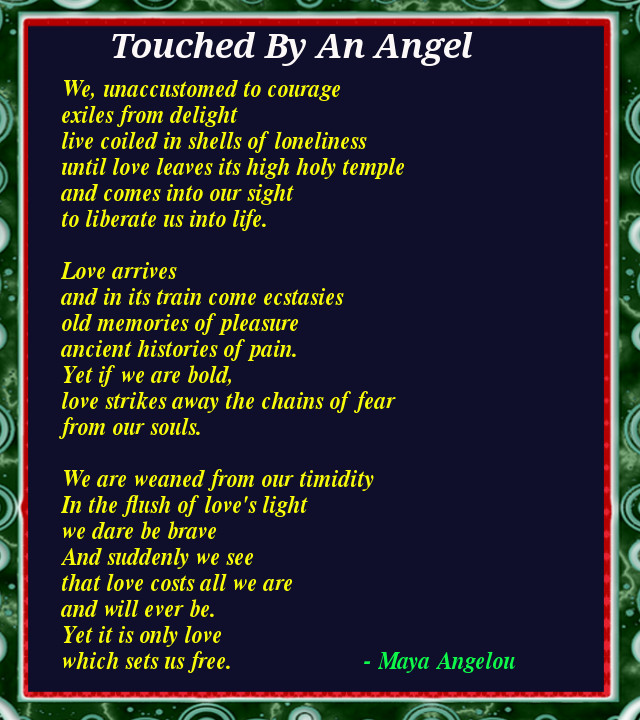 Motivational Poem About Love: 12 Inspiring Poems By Maya Angelou